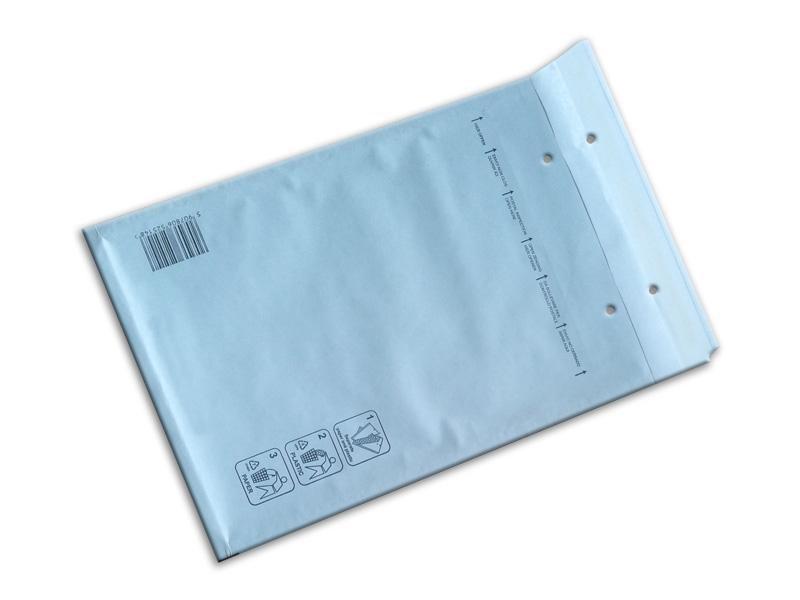 Luftpolstertaschen<br> WHITE Gr. E<br>240x270mm (100 pcs)