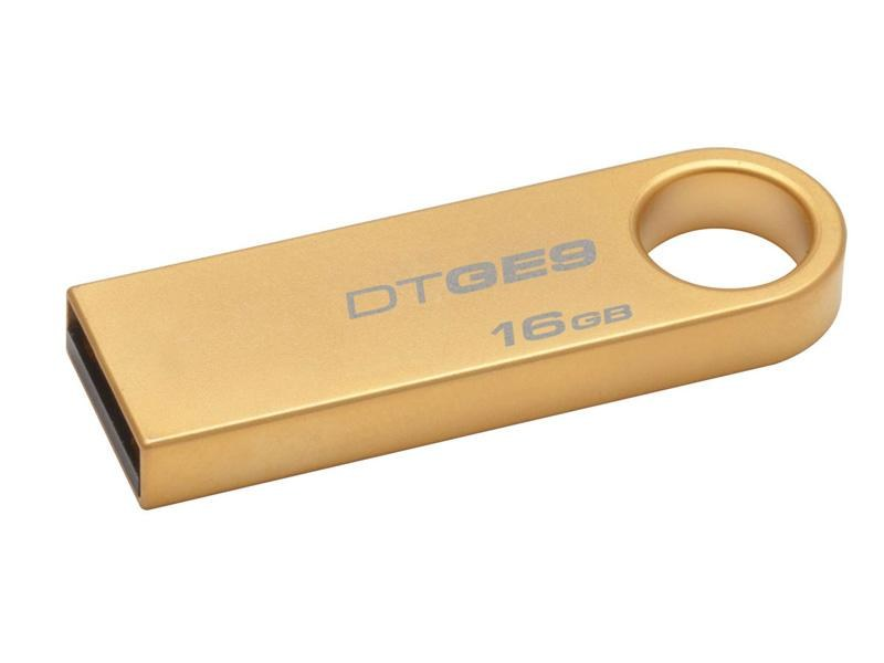 USB Flash Drive<br> 16GB Kingston<br>DTGE9 Blister