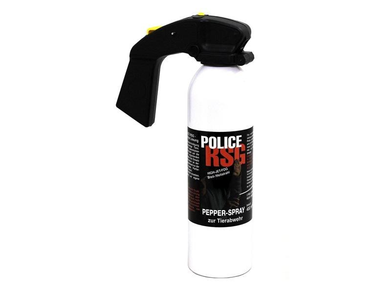 POLICE RSG -<br> Pepper spray for<br>animal repellent 400