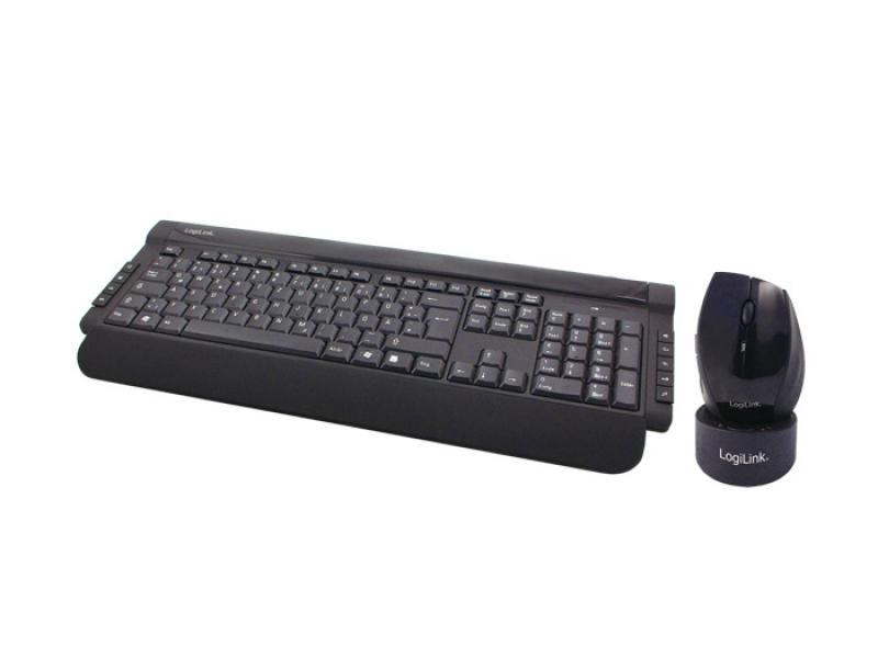 LogiLink 2,4GHz<br> Multimedia<br> Wireless Tastatur ...