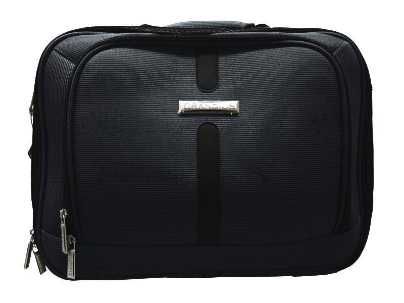 Grandius laptop<br> bag / Flightbag<br>(Black)