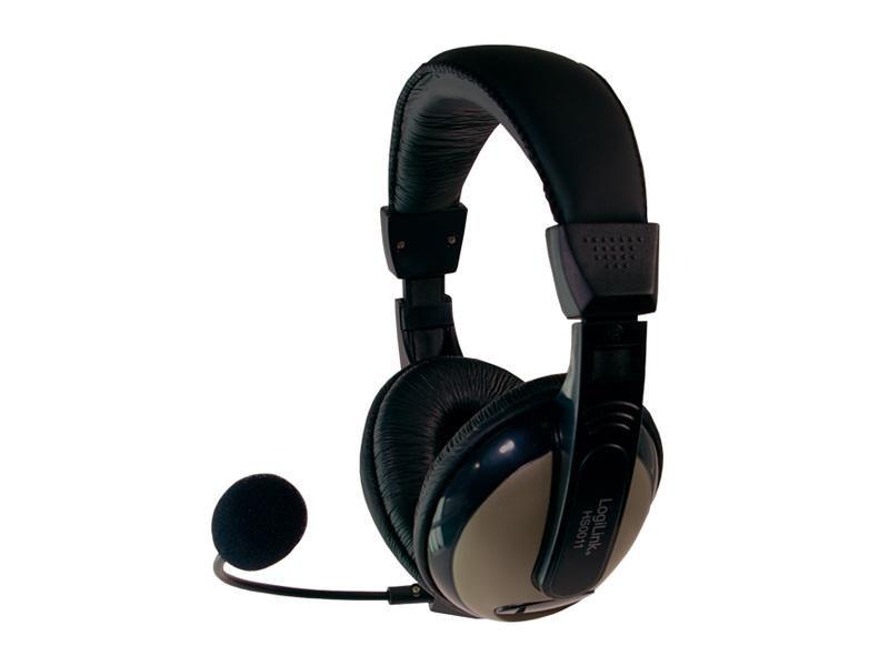 LogiLink High<br> Comfort Stereo<br>Headset mit Mikrofon
