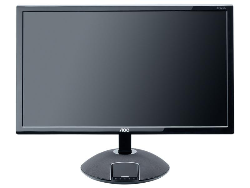 AOC LED monitor 23<br> inch IphoneDock<br>5ms HDMI USB (