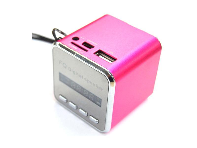 FQ Mini Tragbarer<br> Lautsprecher FQ#46<br>(Pink)