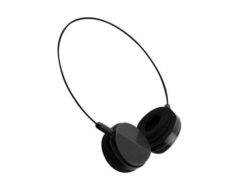 Slim Headphones (Black)
