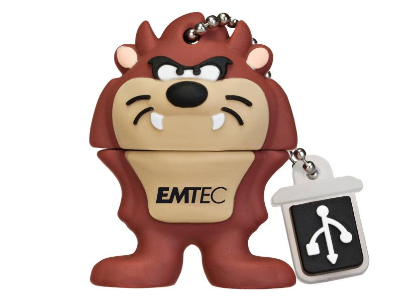 USB Flash Drive<br> 8GB EMTEC Looney<br>Tunes (Taz)