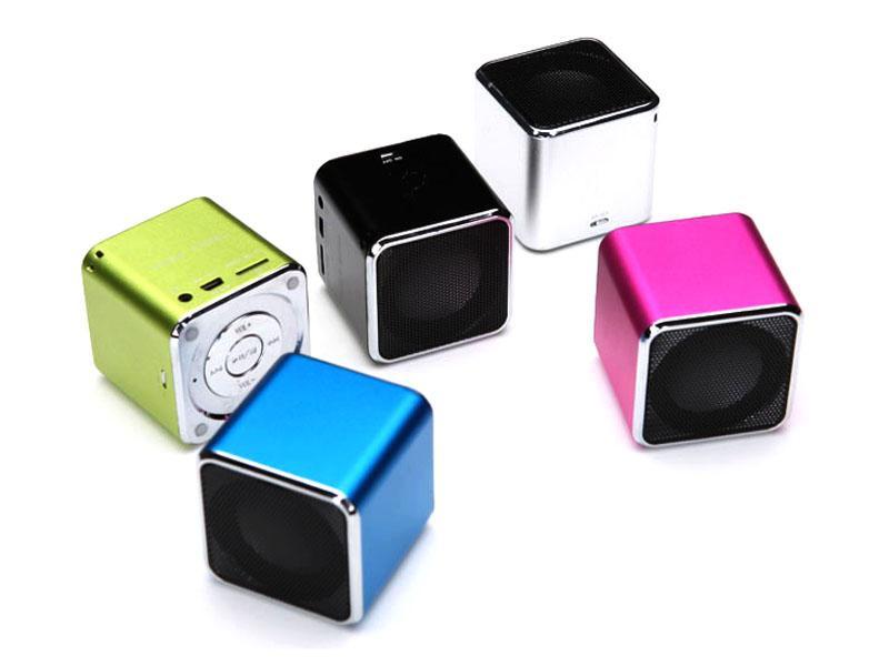 Portable Mini<br>Speaker (Blue)