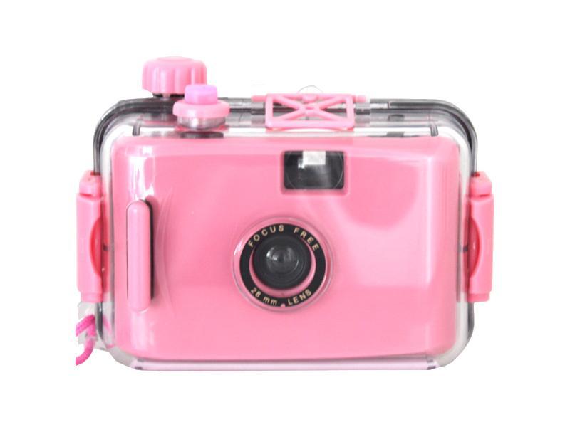 Waterproof 35mm<br>Camera (Pink)