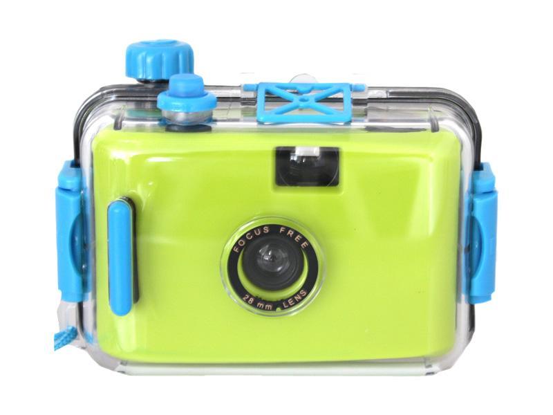 Waterproof 35mm<br>camera (green-blue)