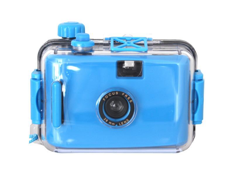 Waterproof 35mm<br>Camera (Blue)