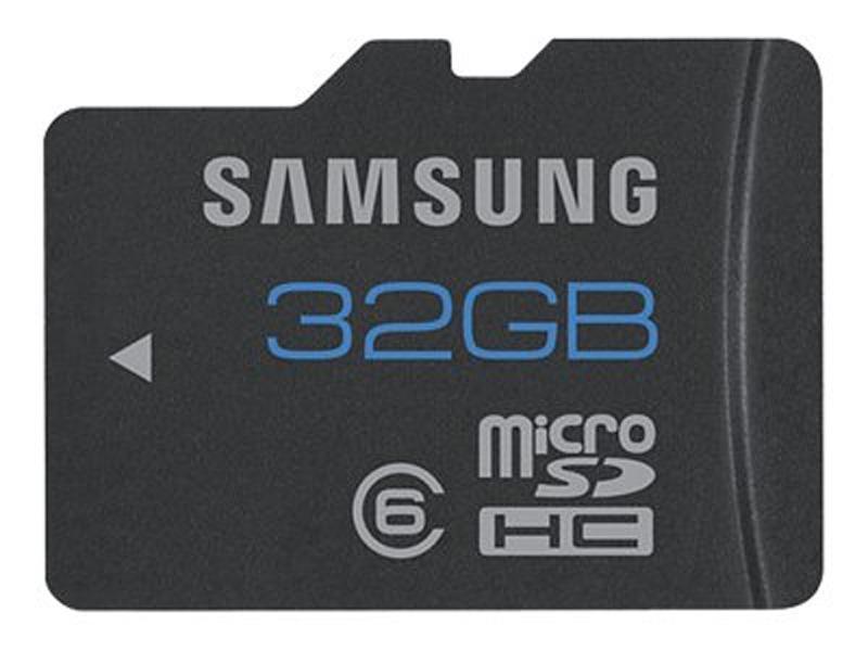 MicroSDHC 32GB<br>Samsung CL6 Bulk