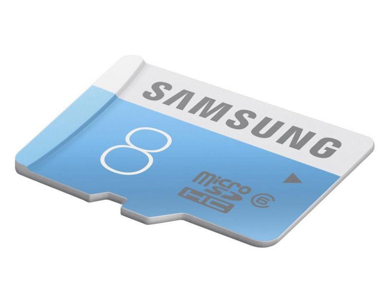 MicroSDHC 8GB<br> Samsung CL6 + SD<br>Adapter Bulk / Mini