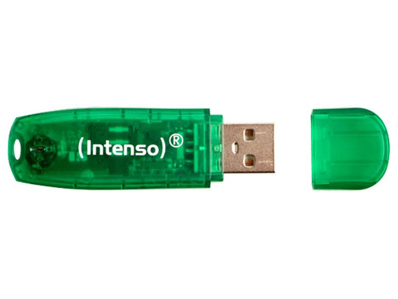 USB Flash Drive<br> 8GB Intenso<br>RAINBOW LINE Blister