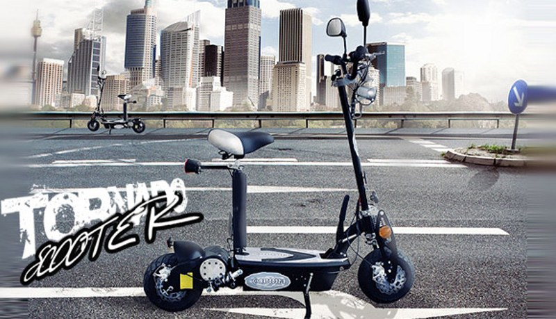 500W E-GO electric<br> scooter tornado<br>with Straßenzul