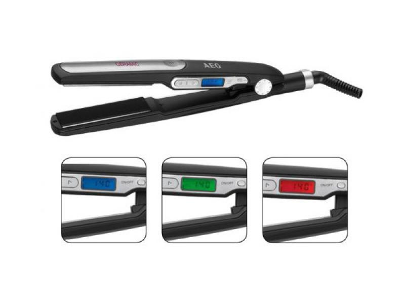 AEG HC 5585 black<br>hair straightener
