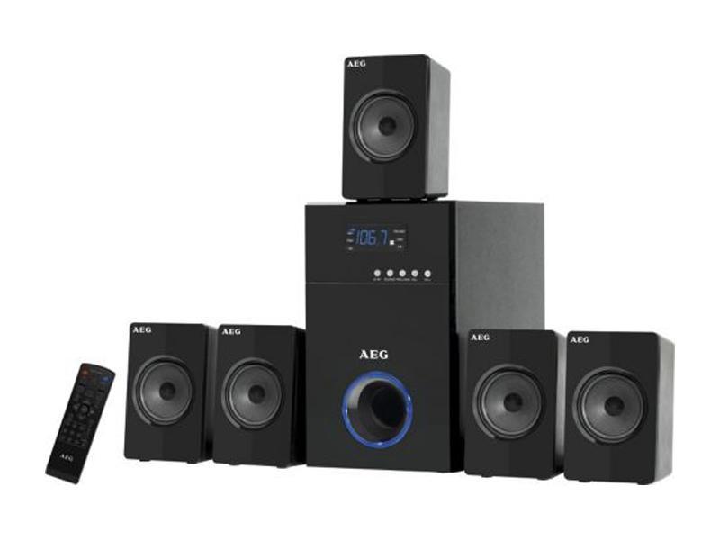 AEG Surround<br> Speaker System SLS<br>4712