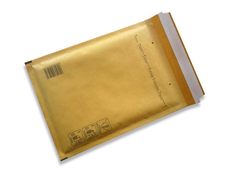 Luftpolstertaschen<br> BROWN Gr. B<br>140x230mm (200 pcs)