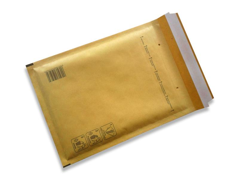 Luftpolstertaschen<br> BRAUN Gr. C<br>170x230mm (100 St.)