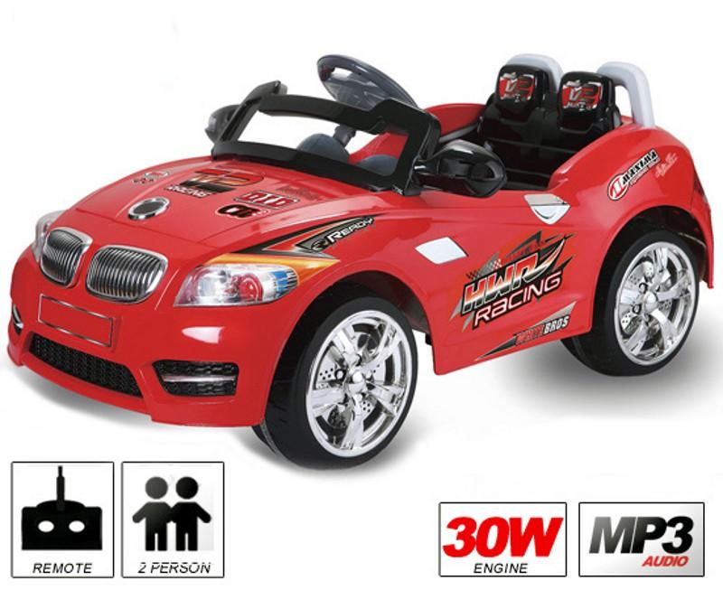 Kinder Elektro<br> Auto BMX-CABRIO-1<br>30W/ 6V/ RC/ MP3