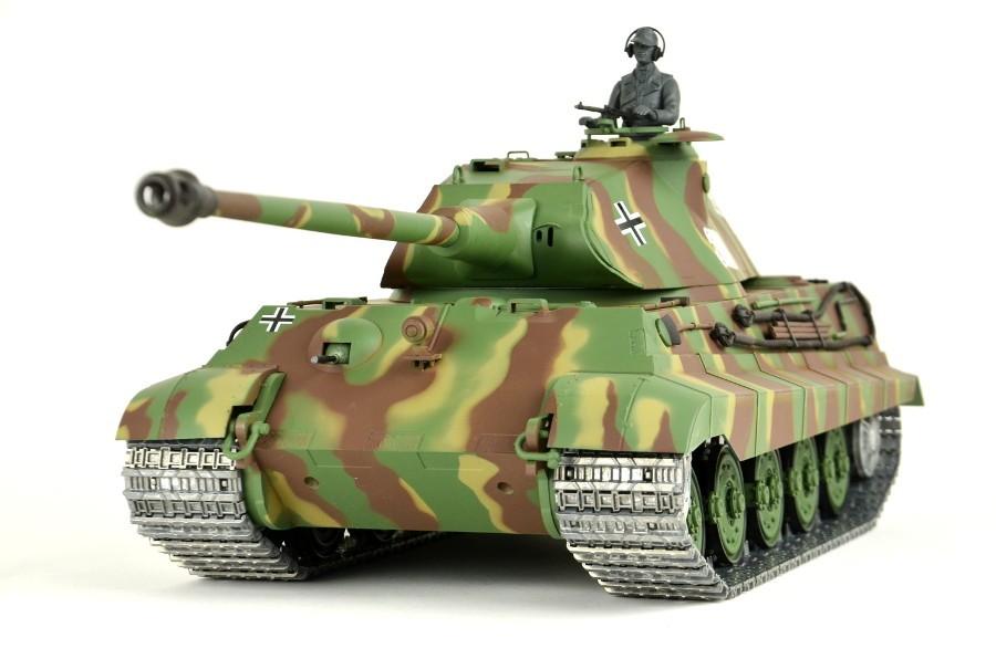 Rc Panzer Quot Deutscher K 246 Nigstiger Quot 1 16 Heng Long Mit Rauch
