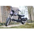 Elektro Scooter Coco Bike E-Chopper mit Straßenzulassung bis zu 48 km/h schnell - ca. 40-45 km Reichweite, 60V | 2000W | 20AH Akku - M4