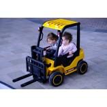 Kinderauto - Elektro Gabelstabler - 12V7AH Akku, 2 Motoren + 2,4Ghz