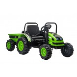 Elektro Kinderfahrauto - Elektro Traktor 388 - 12V7A Akku,2 Motoren 35W mit 2,4Ghz Fernsteuerung und Anhänger