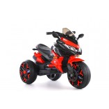 Elektro Kindermotorrad - Dreirad 5118 - 2x 6V4,5A Akku, 2 Motoren + Lackiert
