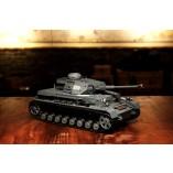 """RC Panzer """"Kampfwagen IV Ausf.F-2"""" Heng Long 1:16 Grau mit Rauch&Sound, Stahlgetriebe und 2,4Ghz -V6.0"""