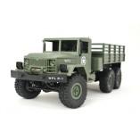 RC USA Militär Truck 1:16 mit 2,4Ghz, 6WD - Allradantrieb von Heng Long - Neuheit