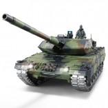 """RC Panzer """"German Leopard 2A6"""" Heng Long 1:16 mit R&S, Metallgetriebe (Stahl) und Metallketten -2,4Ghz -V 6.0 - PRO"""