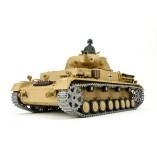 """RC Panzer """"Kampfwagen IV Ausf.F-1"""" Heng Long 1:16 Grau mit R&S+Metallgetriebe+Metallketten +2,4Ghz -PRO"""
