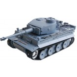 "RC Panzer ""German Tiger I"" Heng Long 1:16 Grau, Rauch&Sound+Metallgetriebe"