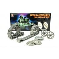 Aufrüstungssatz für Panzer: Metallkettenset für Heng Long Sturmgeschütz und Tauchpanzer
