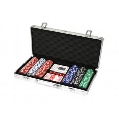300 Poker Chips mit Alukoffer (11,5 Gramm)