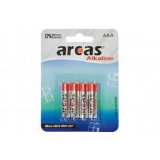 Batterie Arcas Alkaline Micro AAA (4 St.)