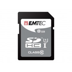 SDHC 8GB EMTEC Blister Jumbo Extra CL 10
