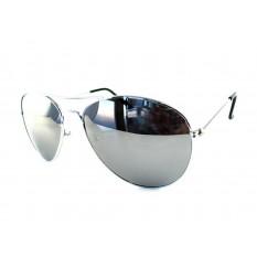 Piloten Sonnenbrille (Silber 23702)