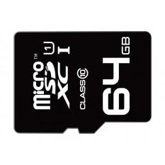 MicroSDXC 64GB EMTEC mit Adapter Class 10 Blister