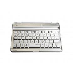 LogiLink Bluetooth Tastatur für iPad Mini Silber (ID0112)