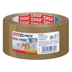 Tesa Pack Ultra Strong PVC 50mm/66 Meter (57177 Braun)
