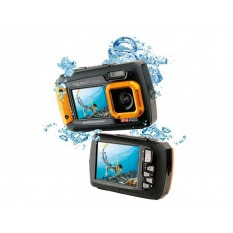 Easypix Aquapix W1400 Active Unterwasserkamera (Orange)