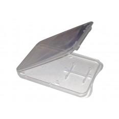Box für Speicherkarten / Memory Card Box SLIM (microSD + SD)