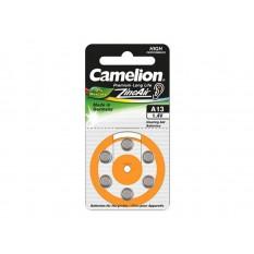 Hörgeräte Batterie Camelion Zink-Luft Zelle A13 0% Mercury/Hg Orange (6 St.)