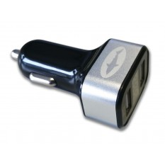 Reekin USB Dual CAR Charger 3.1A (mit Ampere Anzeige)