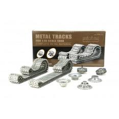 Aufrüstungssatz für Panzer: Metallkettenset für Heng Long German Tiger 3818