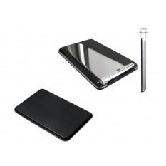 HDD Gehäuse/Case 2,5 Super Speed USB 3.0 SATA chrom/schwarz