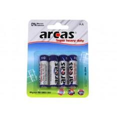 Batterie Arcas R06 Mignon AA (4 St.)