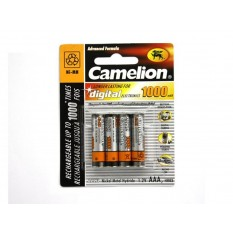 Akku Camelion AAA Micro 1000mAH (4 Stk)
