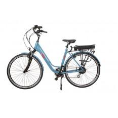 "E-Bike Elektrofahrrad ""I-ROS"" aus Aluminium, 57cm, 36V 250W mit 10,4Ah Akku"